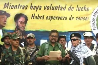 Gherila FARC anunţă reluarea luptelor cu autoritățile din Columbia