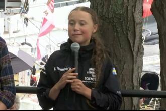 """Greta Thunberg, mesaj pentru Donald Trump: """"Să ia în serios oamenii de știință"""""""