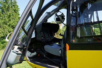 Un elicopter de salvare s-a încurcat în cablurile de înaltă tensiune, în Germania