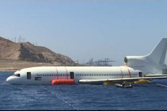 Noua atracţie turistică în Iordan: avion de tip Tristar. Ce se află în interiorul lui