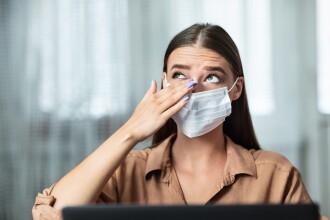Coronavirusul se poate transmite şi prin ochi. Cât de necesar e să purtăm vizieră
