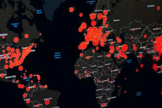 Bilanțul pandemiei în lume ia amploare. Numărul morților se apropie de 700.000