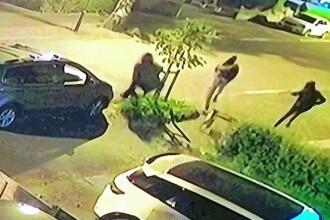 VIDEO. Momentul în care patru hoți din Marea Britanie sunt puși pe fugă de un câine de pază