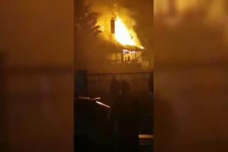 Tragedie în Onești. Un băiat cu autism a murit ars de viu în casa părinților