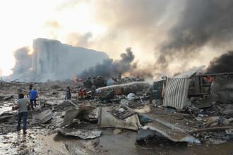 Explozii devastatoare în portul Beirut. Cel puțin 50 de morți și 3.000 de răniți în urma deflagrației