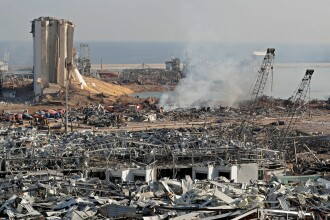 Guvernul din Liban a demisionat în urma exploziei care a devastat Beirutul