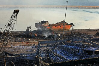Ipoteza președintelui libanez, după explozia din Beirut:
