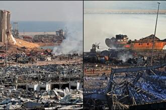 Povestea din spatele exploziei devastatoare din Beirut. Cui aparținea nava ce a adus nitratul de amoniu în Liban