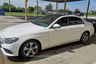 Ce au aflat polițiștii de frontieră când au controlat un șofer care venea din Germania cu un Mercedes