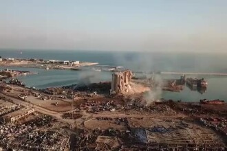 Beirutul riscă o nouă catastrofă după explozie. Zeci de clădiri s-ar putea prăbuși în orice moment