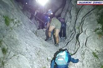 Aplicația care a pus în pericol 8 tineri, în Piatra Craiului. 5 ore a durat operațiunea de salvare
