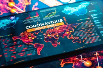 Pandemia de COVID-19 atinge un nou prag psihologic. Peste 20 de milioane de infectări la nivel global