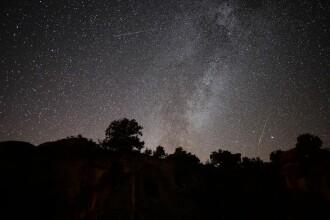 Spectacol cu Perseide pe cer. Unde și când putem urmări stelele căzătoare