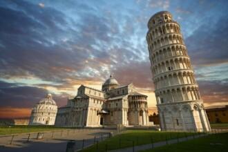 Misterul Turnului din Pisa a fost elucidat: de ce e înclinat și nu se prăbușește