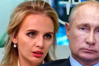 Detalii despre fiica lui Putin, pe care a fost testat vaccinul anti-COVID. Ce s-a aflat despre Maria