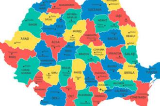Coronavirus România. Județele care au înregistrat cel mai mare număr de noi infectări