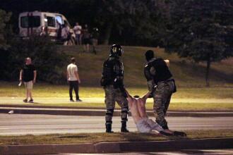"""Belarusul, pregătit pentru un dialog """"constructiv"""" cu străinătatea, după reprimarea protestelor violente"""