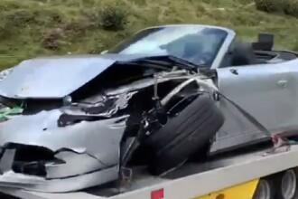 VIDEO Porsche distrus într-un accident cu un Bugatti, pe o șosea de munte. Daunele suferite de bolidul de 3,5 milioane €