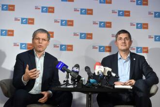 """USR şi PLUS au decis să fuzioneze. Cioloș: """"Cea mai importantă forţă politică"""""""