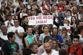 """Președintele Consiliului European: """"Alegerile din Belarus nu au fost nici corecte, nici libere"""""""