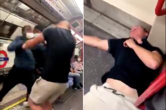 VIDEO. Un bărbat a fost lăsat inconștient în metroul londonez, după un atac rasist