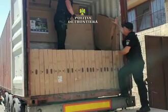 Captură uriașă a Poliției de Frontieră. Valorează 1 milion de euro
