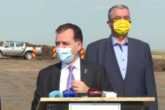 Ludovic Orban: Ne-am angajat să construim aproape 3.000 de km de autostrăzi şi drumuri expres