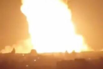 """VIDEO. O țară întreagă a rămas în beznă după explozia unui gazoduct. """"Un atac terorist"""""""