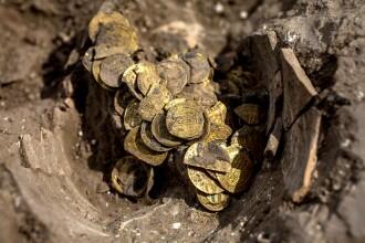 Monede din aur vechi de peste 1.000 de ani, descoperite în Israel