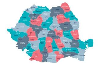 Județele cu cel mai mare număr de infectări cu COVID-19. Peste 300 de cazuri noi în București