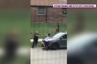 """Americanul de culoare împușcat în spate de polițiști este paralizat şi """"luptă pentru viaţa sa"""""""