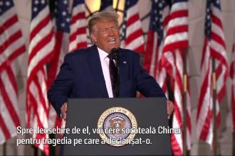 Donald Trump, atac dur la adresa contracandidatului său.