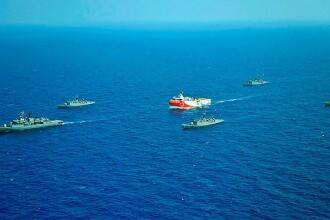 Turcia le trimite un avertisment Greciei, Israelului şi Uniunii Europene privind Mediterana de est