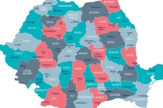 Cele mai multe cazuri de Covid-19 din ultimele 24h, înregistrate în București. Care e topul județelor