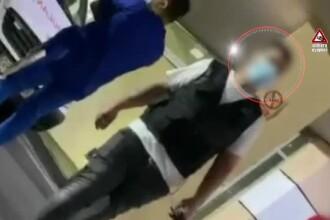Paznic de spital din Capitală, filmat în timp ce le cere bani pacienților cu urgențe