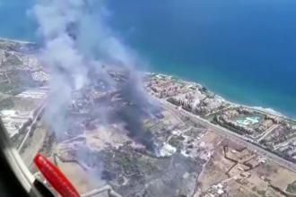 Alertă în Europa. Incendiile au mistuit zone întregi din Spania, Italia și Grecia