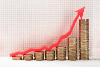 BNR: Rata anuală a inflaţiei va creşte probabil, pe orizontul scurt de timp, mult mai pronunţat decât s-a anticipat