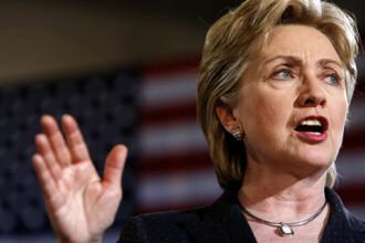 Hillary Clinton felicita poporul roman cu ocazia Zilei Nationale a Romaniei