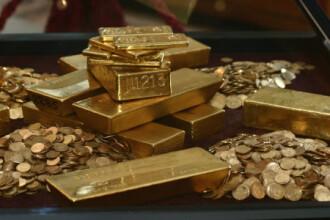 Romanii investesc in aur pe timp de criza