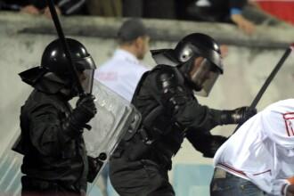 Violente intre suporteri la un meci din campionatul de fotbal al Poloniei