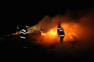 Alcoolul ucide! A adormit cu focul aprins, dupa ce a baut si a ars de viu!
