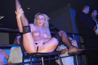 Alina Plugaru face ce stie ea mai bine!