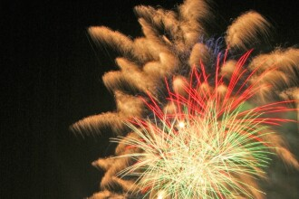 Foc de artificii spectaculos, dar nedorit, in China