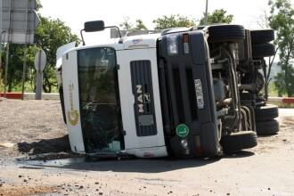 Microbuz din R.Moldova izbit de un TIR romanesc. 7 morti, in Ungaria