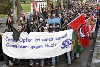 Confruntari violente la Berlin, intre politie si activistii de stanga
