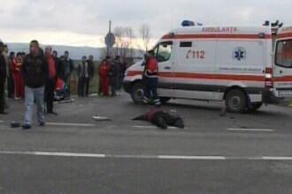 Accident pe soseaua Oltenitei. Trei oameni au ajuns la spital