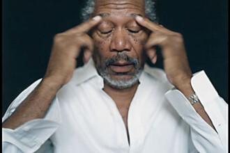 Morgan Freeman a ramas cu mana paralizata. Nervii i-au fost distrusi