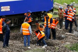 S-au asezat in calea mortii. Doi soti au fost spulberati de tren!