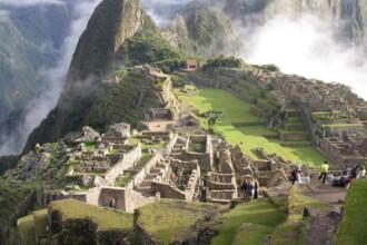 Prapad dupa inundatiile de la Machu Pichu