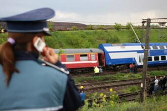 Tragedie pe calea ferata: trei persoane spulberate de tren!